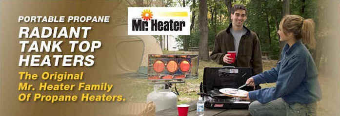 Mr Heater Propane Tank Top Heater